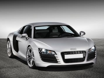Column 2007 audi r8 front angle cl